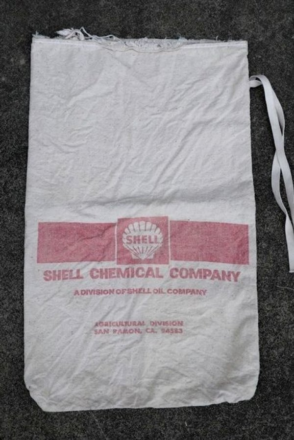 画像2: dp-180508-07 SHELL Chemical Company / 1960's Canvas Bag