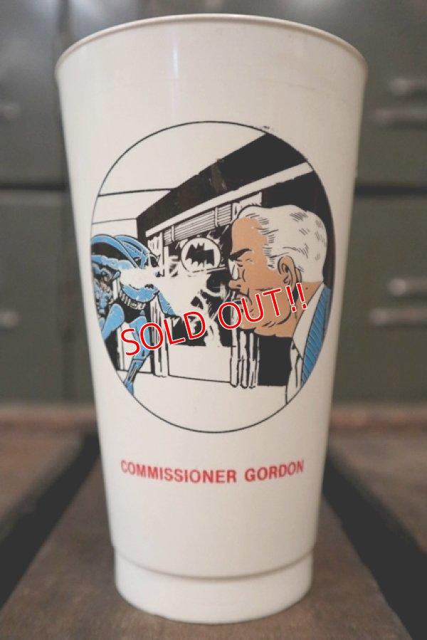 画像1: ct-140506-20 Commissioner Gordon / 7 ELEVEN 1970's Plastic Cup