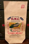 dp-150217-21 Corn Meal / Vintage Paper Bag