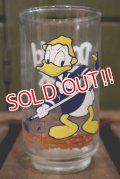 gs-141101-80 Donald Duck / 1960's Mickey Mouse Club Glass