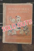 ct-160106-22 Donald Duck and His Nephews / 1960's Book
