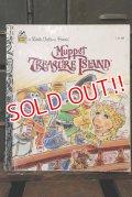 ct-180514-29 Muppet Treasure Island / 1990's Little Golden Book