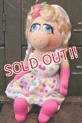ct-180514-02 Miss Piggy / Kid Dimension 1990's Plush Doll