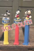 pz-130917-04 Mickey Mouse / PEZ Candy Inc.80th Anniversary Dispenser set of 3
