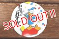 """ct-180514-10 Donald Duck / 1990's Pinback """"PARTY"""""""