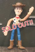 ct-150217-22 TOY STORY / Woody 1990's Think Way Bendable Figure