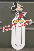 ct-180514-73 Mickey Mouse / 1980's-1990's Clip Bookmark