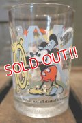 ct-180601-03 Walt Disney's / 100th Anniversary Disney McDonald's Glass (A)