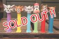 pz-130917-04 Tom and Jerry / PEZ Dispenser Set
