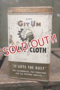 dp-180601-24 ASCO GIT UM / Vintage Dust Cloth Can
