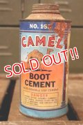 dp-180701-73 CAMEL / Vintage Boot Cement Can
