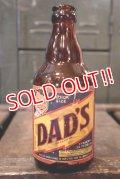 """dp-180801-60 DAD'S ROOT BEER / 1950's Bottle """"Junior Size"""""""