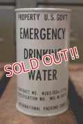 dp-180801-41 Emergency Drinking Water / 1950's Can