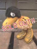 "dp-180801-69 Vintage College Mascot Doll ""Herky the Hawk"""