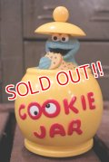ct-180801-64 Cookie Monster / ILLCO TOY 1980's-1990's Cookie Jar Car
