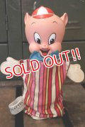 ct-180801-42 Porky Pig / Mattel 1964 Talking Puppet Doll