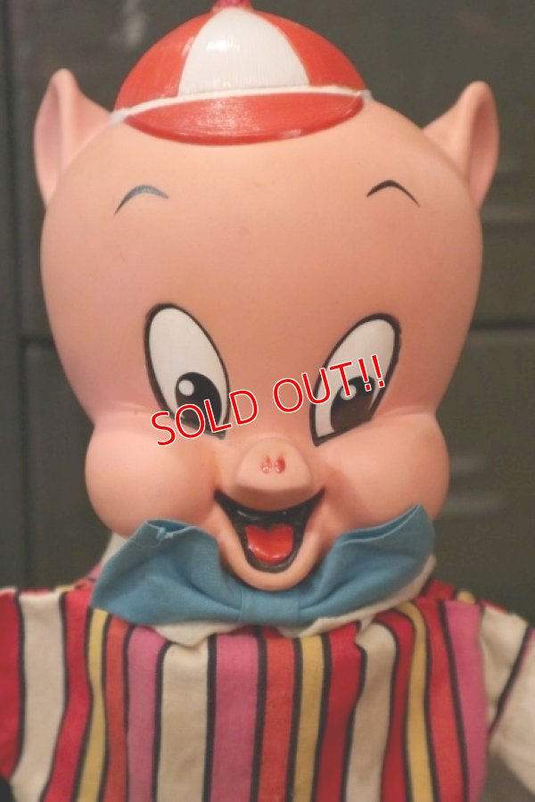 画像2: ct-180801-42 Porky Pig / Mattel 1964 Talking Puppet Doll