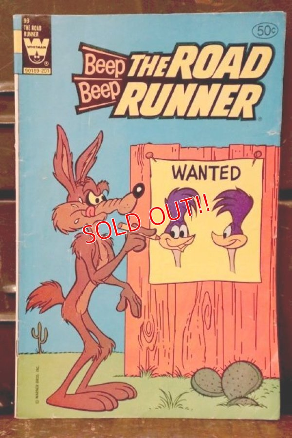 画像1: bk-180801-20 Road Runner / Whitman 1981 Comic