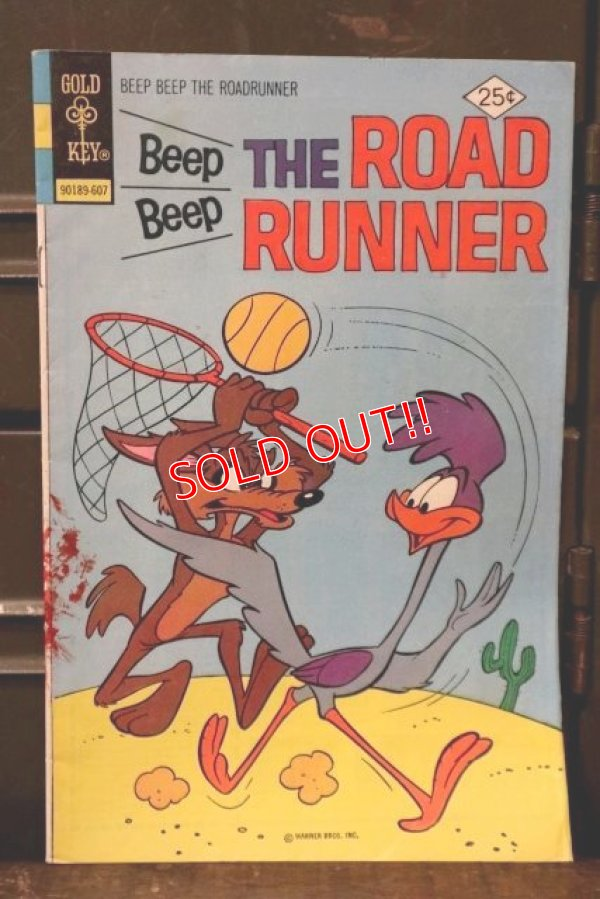 画像1: bk-180801-16 Road Runner / Gold Key July 1976 Comic