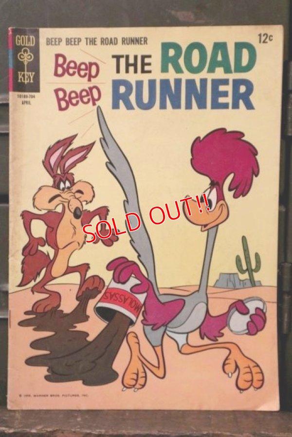 画像1: bk-180801-19 Road Runner / Gold Key April 1967 Comic