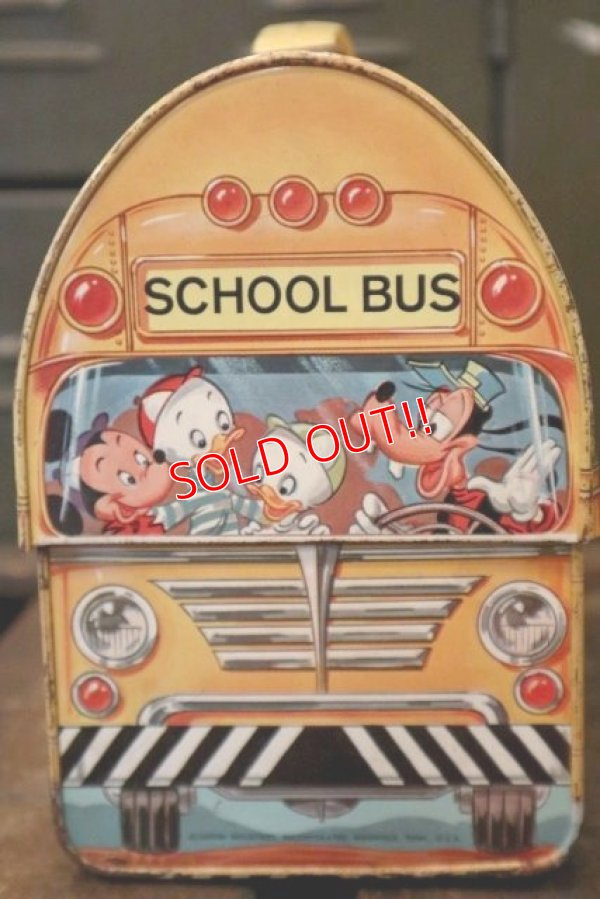 画像2: ct-180901-156 Walt Disney's / Aladdin 1960's School Bus Lunchbox