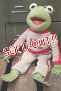ct-180901-174 Kermit / 1990's Muppet University Plush Doll