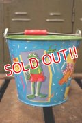ct-180901-176 The Muppets / 1990's Tin Bucket