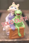ct-180901-215 Kermit & Miss Piggy / Applause 1990's PVC
