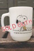 ct-180901-223 Snoopy / Anchor Hocking 1970's-1980's Good Day 9oz Mug