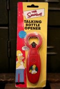 ct-181001-03 the Simpsons / Homer 2003 Talking Bottle Opener