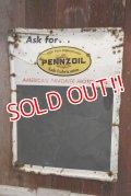 dp-181001-06 PENNZOIL / 1960's Chalk Board