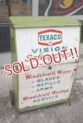 dp-181001-04 TEXACO / 1960's Wiper Blade Cabinet