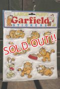 ct-181001-10 Garfield / 1978 Large Puffy Stickers