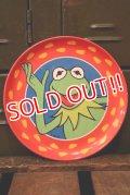 ct-181031-02 Kermit / 1980's-1990's Plastic Plate