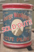 dp-181001-31 GEORGE WASHINGTON / CUT PLUG Tobcco Can