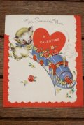 ct-180901-204 Vintage Valentine Card