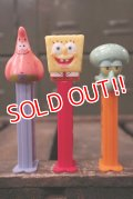 pz-130917-04 Spongebob / PEZ Dispenser Set