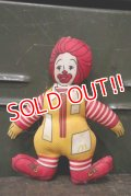 ct-181101-01 McDonald's / Ronald McDonald 1980's mini Cloth Doll