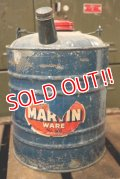 dp-181001-33 MARTIN WARE / 1940's Gas Can