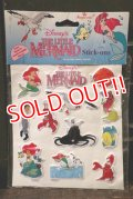 ct-181031-18 Little Mermaid / 1991 Stick-Ons Puffy Stickers