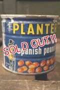 dp-181101-09 Planters / Mr.Peanuts 1960's-1970's Spanish Peanuts Tin Can