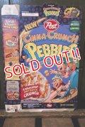 dp-181101-50 The Flintstones / Post 1995 Cinna-Crunch Pebbles Cereal Box