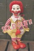 ct-181101-37 McDonald's CANADA / Hasbro Ronald McDonald 1978 Whistle Doll
