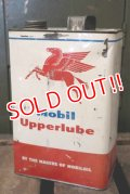 dp-181101-27 Mobil / Upperlube 1950's-1960's Oil Can