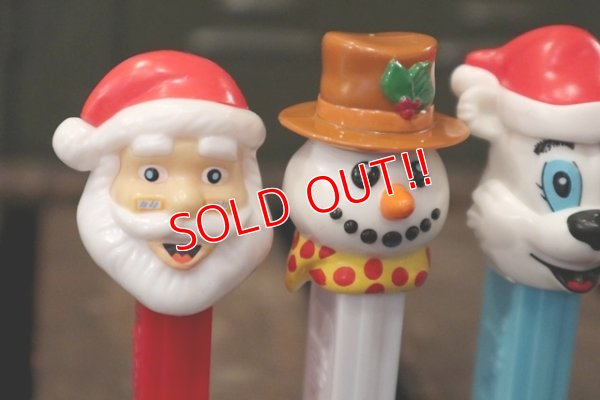 画像2: pz-130917-04 Christmas / 2000's PEZ Dispenser Set of 4