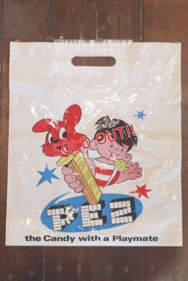 画像1: pz-130917-04 PEZ / 1990's PEZ BOY Plastic Bag