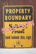 dp-181115-01 U.S.Forest Service / National Forest Property Boundary Sign