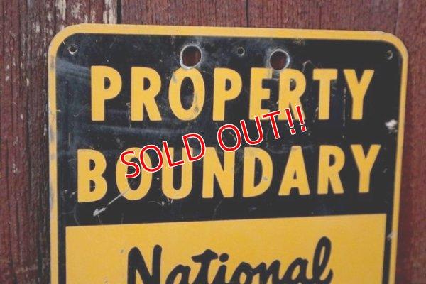 画像2: dp-181115-01 U.S.Forest Service / National Forest Property Boundary Sign