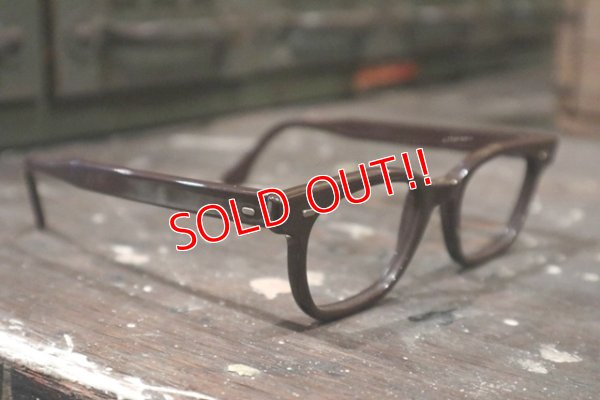 画像2: dp-181115-26 1960's-1970's Prisoner Glasses Frame