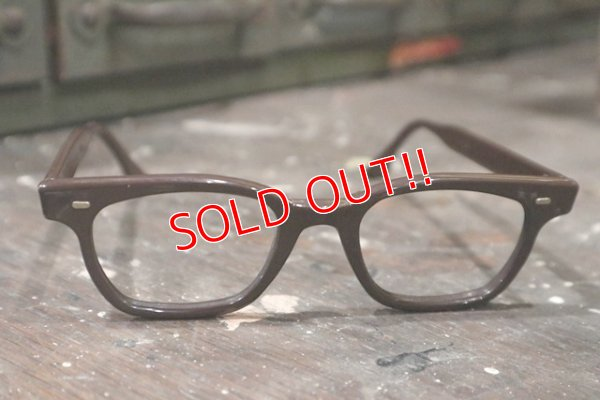 画像1: dp-181115-26 1960's-1970's Prisoner Glasses Frame